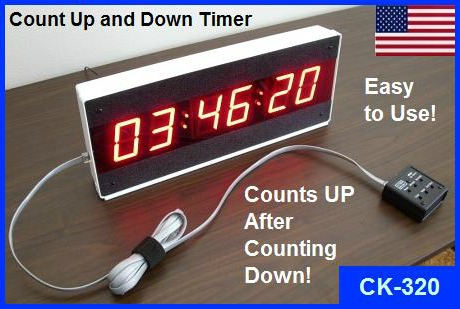 count down then count up timer