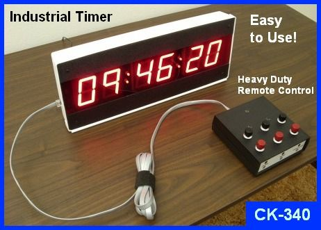 Industrial Digital Timer Led Large Industrial Countdown
