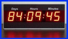 event countdown clock