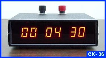 small led digital count up timer