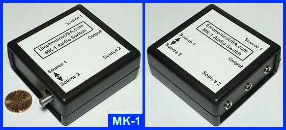 MK-1 stereo audio switch