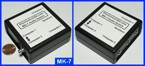 MK-7 Computer Audio Switch