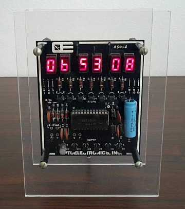 Vintage digital clock kit