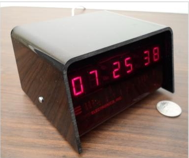 Optoelectronics clock