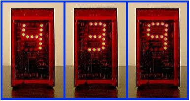Bc 4 Time Beacon Single Digit Clock Electronics Usa