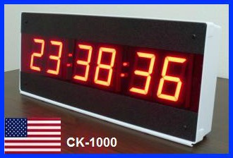 24 hour wall clock ck1000