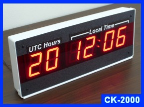 dual time zone clock CK-2000