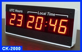wall time zone clock
