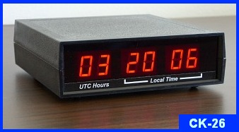 Digital Time Zone Clock CK-26