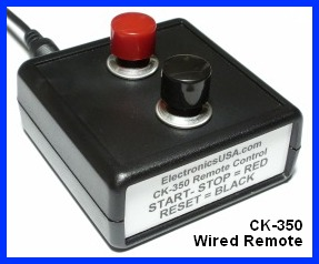CK-350 count up timer remote control