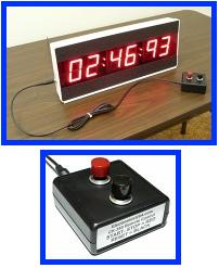 large industrial count up timer