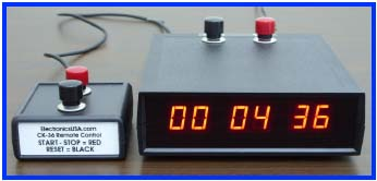 CK-46 Stopwatch Timer and Remote Control