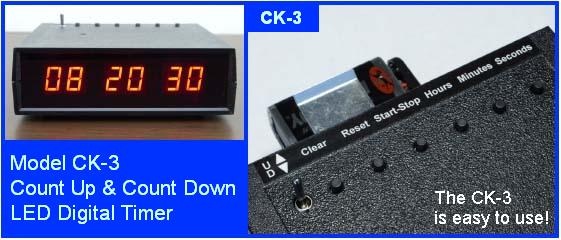CK-3 digital desk timer