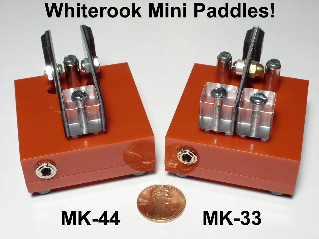 Mini CW Paddles Morse Keys & Keyers : Electronics USA