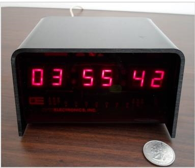 Vintage Optoelectronics digital clock