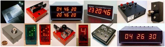 LED digital timer and clocks