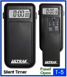 Photo of an Ultrak T5 vibrating silent timer