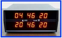 dual time zone clock