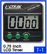 Photo of an Ultrak T-1 pocket timer